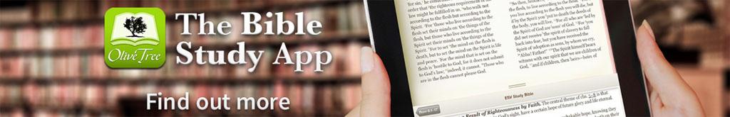 Olive Tree Bible Study App Logo